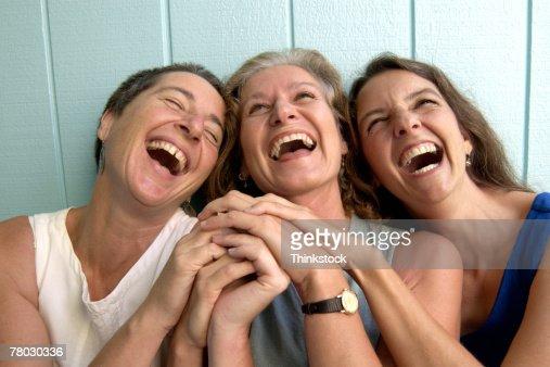 Women laughing : Stock Photo