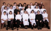 Women leaders at Le Fouquet in Paris France in November 2005 Left ro right top row Judith Baumann La Pinte des Mossettes La Valsainte Switzerland...