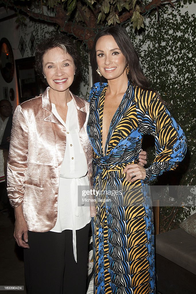 Women Like Us Foundation CEO Linda Rendleman and daughter, TV personality, Catt Sadler attends Pre-LAFW Launch Party In Support Of The Women Like Us Foundation at Lexington Social House on March 8, 2013 in Hollywood, California.