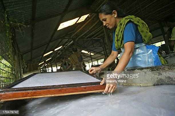 Women make toys with paper Women at Ideal Step for Sustainable Development ISSD are making paper processed from waterhyacinth ISSD directed by...