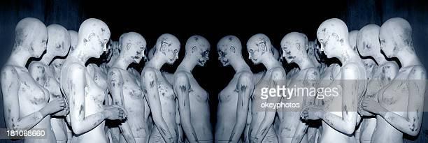 Women mannequins.