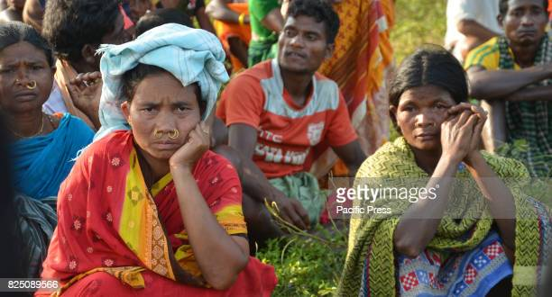 Women of Dongria Kondh indigenous tribal group of Odisha IndiaTheir faith identity lifestyle are centered at Niyamgiri mountains forests earth and...