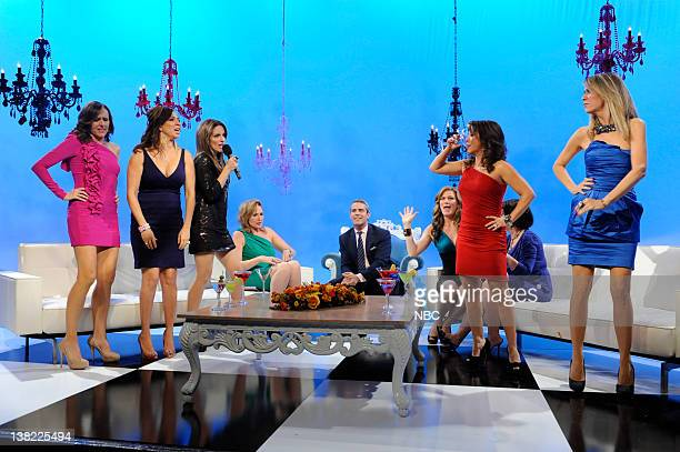 Molly Shannon Maya Rudolph Tina Fey Andy Cohen Ana Gasteyer Rachel Dratch Cheri Oteri Kristen Wiig