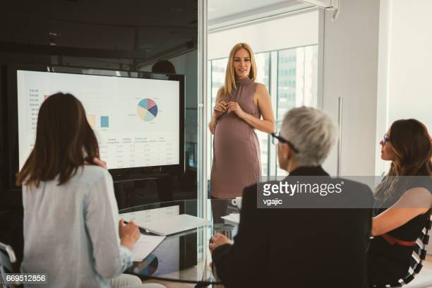 Women on Presentation