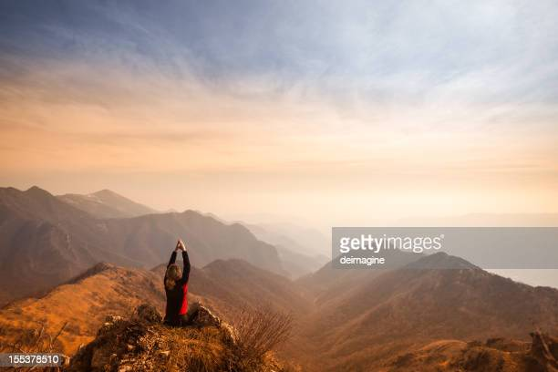 Women on top of the Mountain