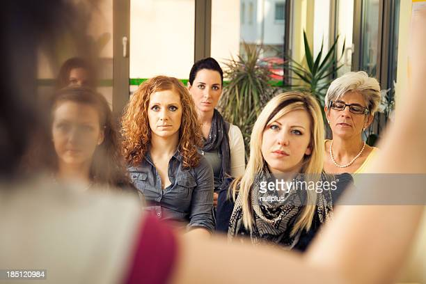 Nur Frauen seminar
