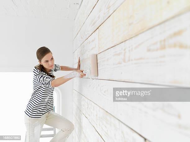 Women paint