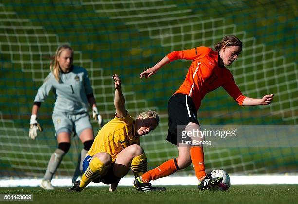 Women Qual Sweden vs the Netherlands Malin Andersson Sweden / Sverige Anne Bosveld the Netherlands / Holland ©Lars Ronbog / Sportsagency