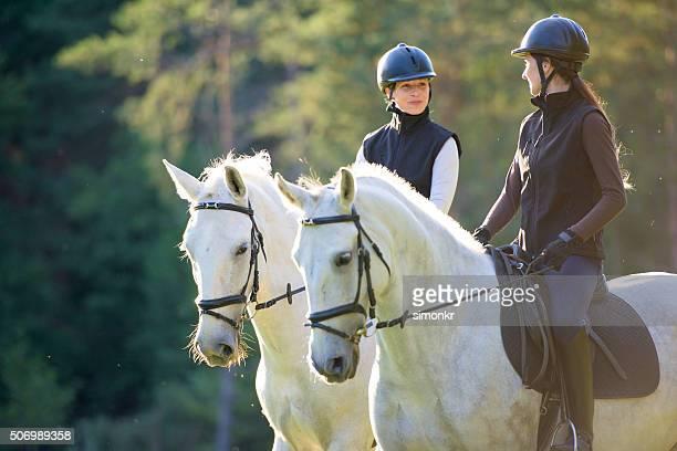 Femmes équitation