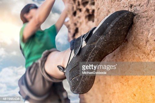 Donne Rockclimber in un attimo all'
