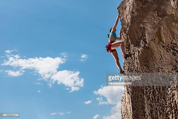 Femmes Rockclimber