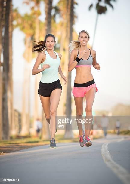 Women running Outdoor