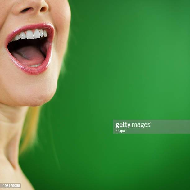 women screaming