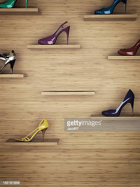 Women shoes rack