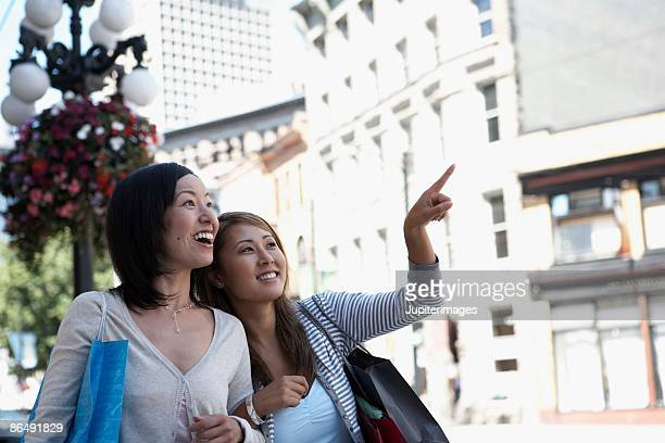 Women sightseeing