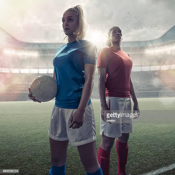 Frauen Fußball-Helden