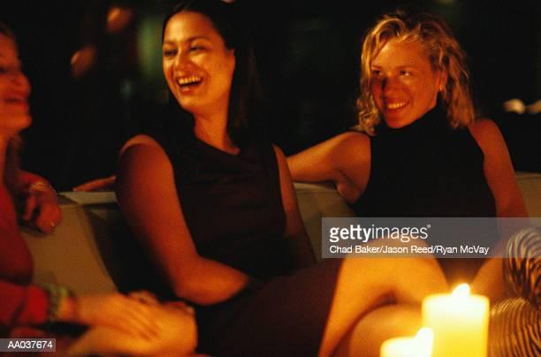 Women talking at Social Gathering