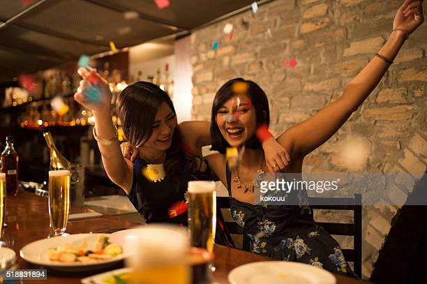 Women who are raised in a birthday party