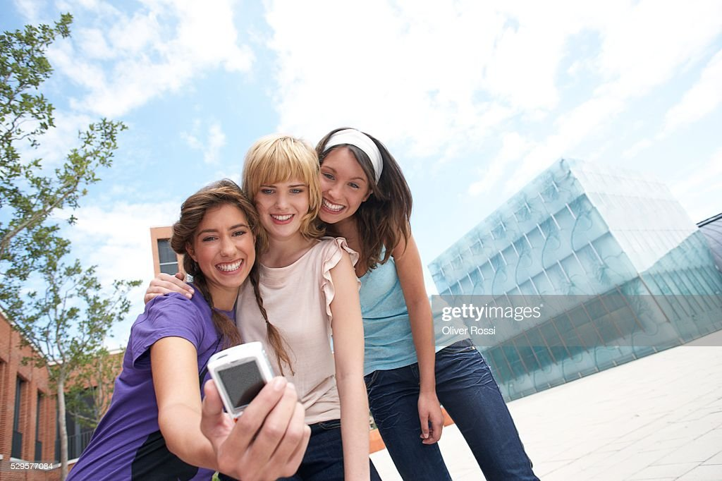 Women with Digital Camera : Stock Photo