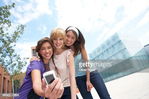 Women with Digital Camera : Photo
