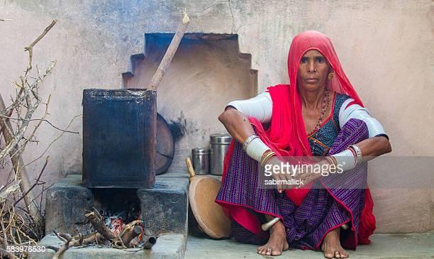 Women working in Rajasthan, India