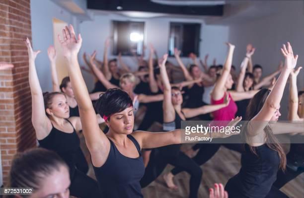 Frauen beim Training