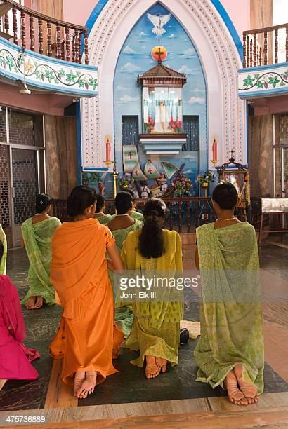 Women worshipping