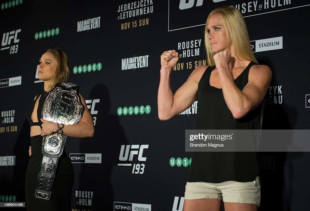 UFC 193 Ultimate Media Day