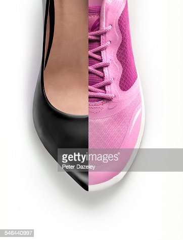 Women's business shoe and trainer