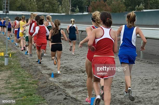 Womens Cross Country Race