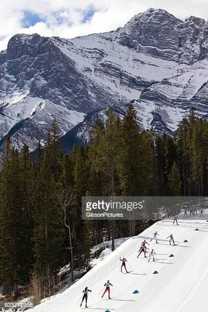 Women's Cross Country Ski Race