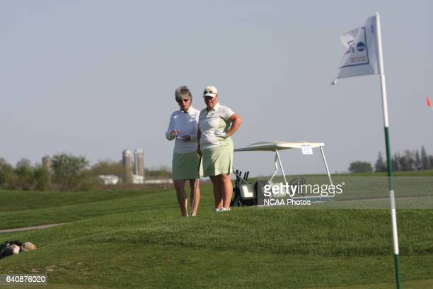 Women's Golf action during the Division III Women's Golf Championship held at Centennial Oaks Golf Club in Waverly IA Gary Fandel/NCAA Photos via...