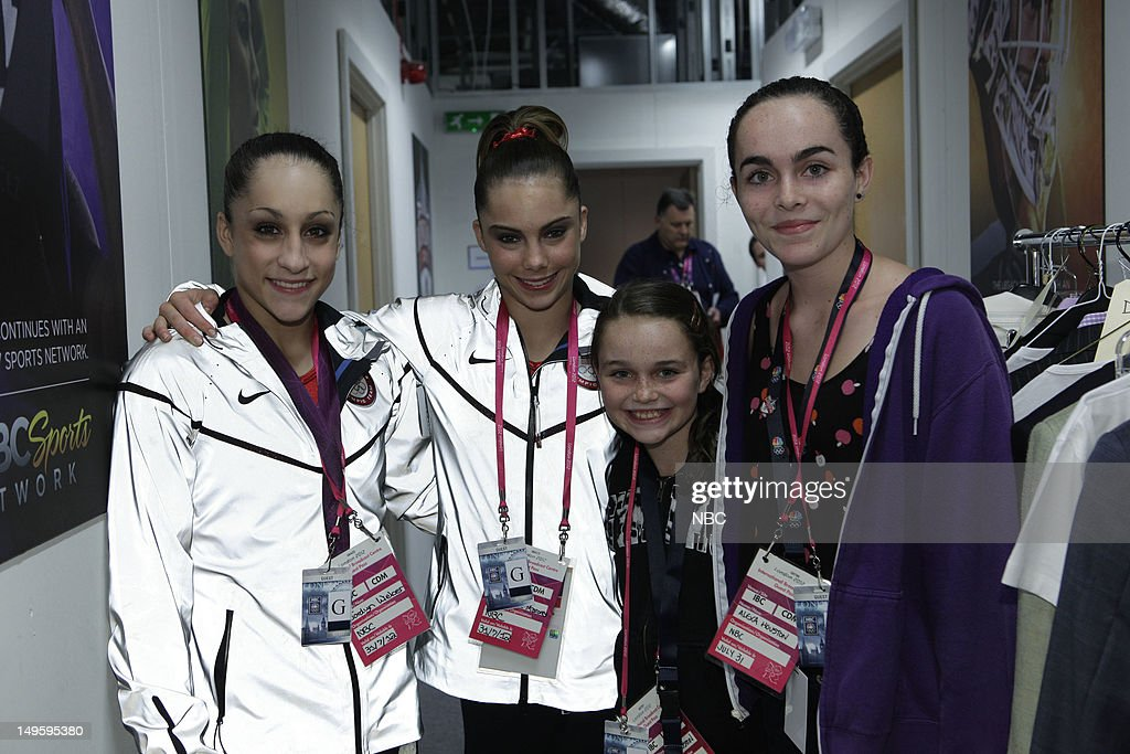 Women's Gymnasts -- Pictured: (l-r) <a gi-track='captionPersonalityLinkClicked' href=/galleries/search?phrase=Jordyn+Wieber&family=editorial&specificpeople=5720749 ng-click='$event.stopPropagation()'>Jordyn Wieber</a>, <a gi-track='captionPersonalityLinkClicked' href=/galleries/search?phrase=McKayla+Maroney&family=editorial&specificpeople=7138673 ng-click='$event.stopPropagation()'>McKayla Maroney</a> --