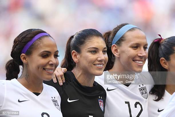 Canada Women's National Soccer Team Photos et images de ...