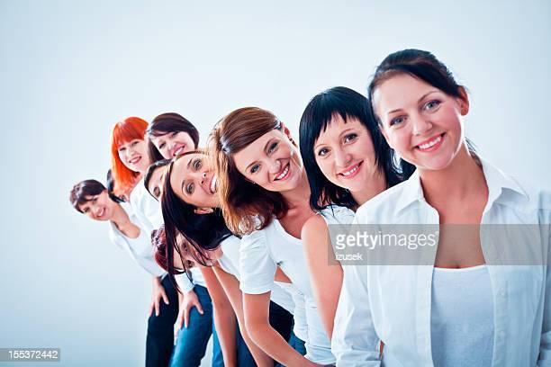 Del equipo de mujeres
