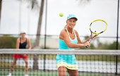 Women's Tennis doubles