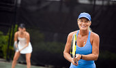 women's tennis doubles team