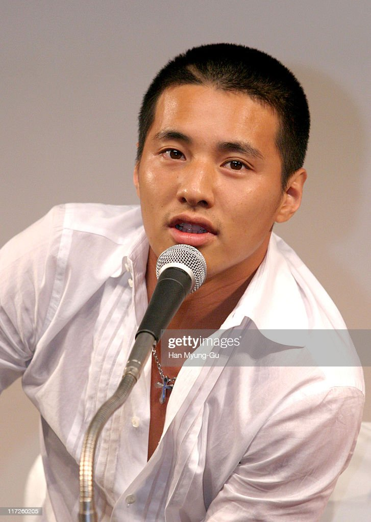 Won Bin during My Brother Seoul Press Conference at Shilla Hotel in Seoul City Seoul South Korea