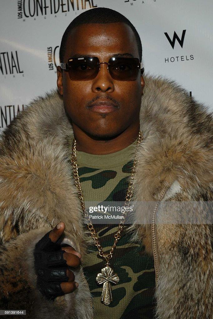 Won G attends Los Angeles Confidential Magazine Pre Oscar Bash Celebrates Cover Boy Jamie Foxx sponsored by Godiva at the W Hotel Los AngelesWestwood...