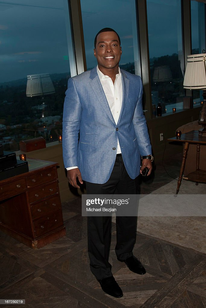 Won G attends Mutt Match LA Fundraiser at Soho House on April 22, 2013 in West Hollywood, California.
