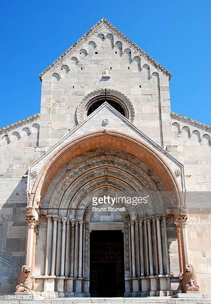 Wonderful Gothic portal of Ancona Cathedral