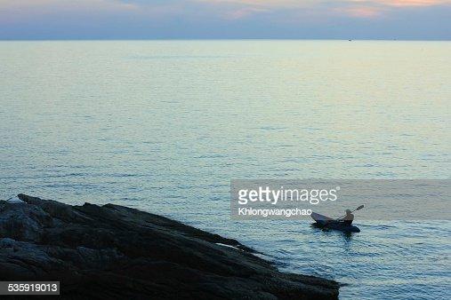 Wonderful sunset at the sea : Stock Photo