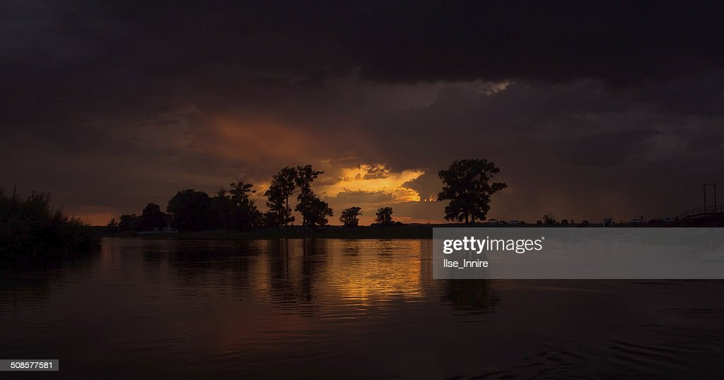 Wonderful sunset : Stock Photo