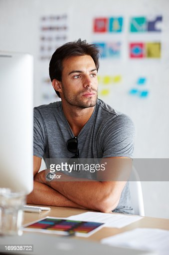 Wondering what tomorrow will bring : Stock Photo