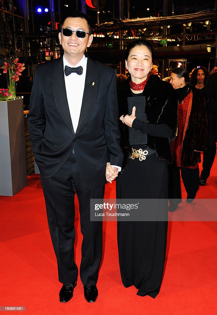 Wong Kar Wai and Esther Wong attend 'The Grandmaster' Premiere during the 63rd Berlinale International Film Festival at Berlinale Palast on February 7, 2013 in Berlin, Germany.