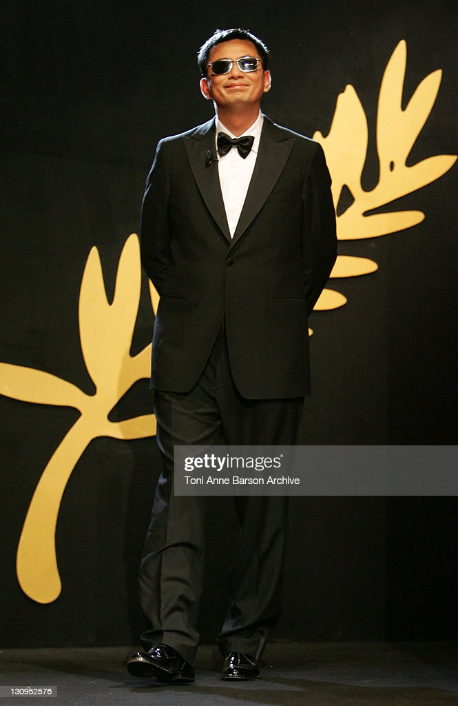 Wong Kar Wai during 2006 Cannes Film Festival - Palme D'Or - Ceremony at Palais des Festivals in Cannes, Cannes, France.