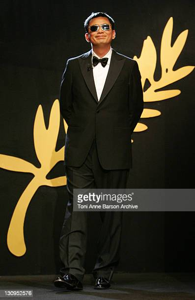 Wong Kar Wai during 2006 Cannes Film Festival Palme D'Or Ceremony at Palais des Festivals in Cannes Cannes France