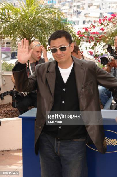 Wong Kar Wai during Cannes Film Festival Jury Photocall at Palais des Festivals Cannes in Cannes France