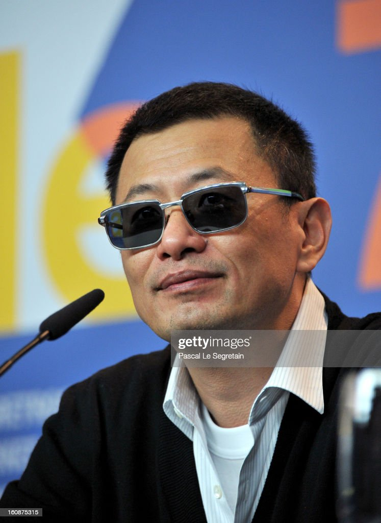 <a gi-track='captionPersonalityLinkClicked' href=/galleries/search?phrase=Wong+Kar-Wai&family=editorial&specificpeople=607048 ng-click='$event.stopPropagation()'>Wong Kar-Wai</a> attends 'The Grandmaster' Press Conference during the 63rd Berlinale International Film Festival at the Grand Hyatt on February 7, 2013 in Berlin, Germany.