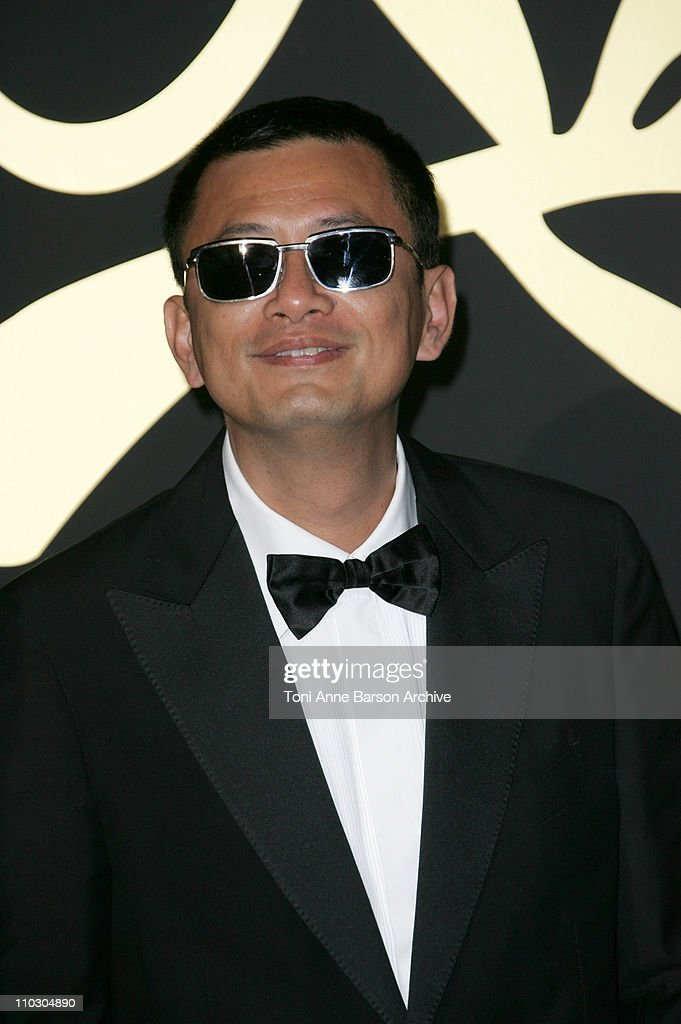 Wong Kar-Wai during 2007 Cannes Film Festival - 60th Anniversary Dinner in Cannes, France.